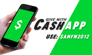 You can give with CashApp